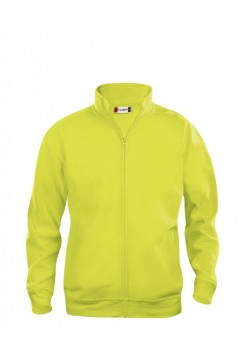 SUDADERA BASIC CARDIGAN JUNIOR FLUOR