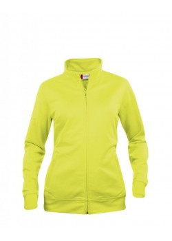SUDADERA BASIC CARDIGAN LADIES FLUOR