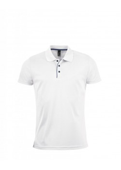 POLO TECNICO PERFORMER MEN BLANCO