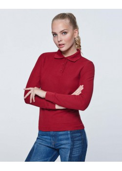 POLO MANGA LARGA ESTRELLA WOMAN L/S COLOR