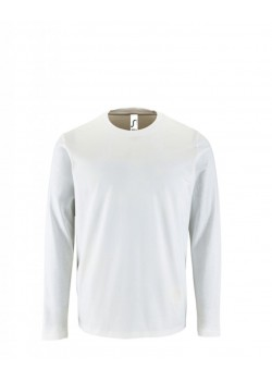 CAMISETA IMPERIAL LSL MEN BLANCO