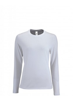 CAMISETA IMPERIAL LSL WOMEN BLANCO