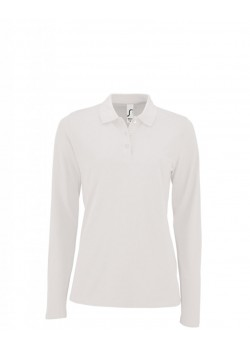 POLO PERFECT LSL WOMEN BLANCO