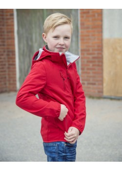 CHAQUETA SOFTSHELL BASIC JUNIOR