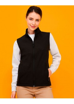 CHALECO SOFTSHELL RACE BW MUJER