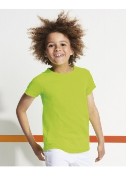 CAMISETA TECNICA SPORTY NIÑO COLOR