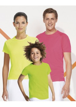 CAMISETA TECNICA SPORTY KIDS COLOR