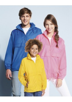 CORTAVIENTOS UNISEX SURF COLOR